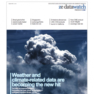 1st Issue of the ZE DataWatch eMagazine – September 2011